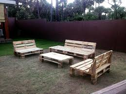 pallet garden seating set 30 easy pallet ideas for the home