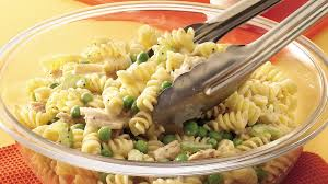 pasta salad with tuna tuna twist pasta salad recipe pillsbury com