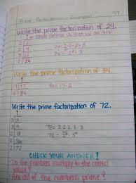 math u003d love prime factorization using the birthday cake method