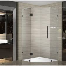 38 Neo Angle Shower Door Aston Neoscape Gs 38 In X 38 In X 72 In Frameless Neo Angle