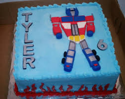 optimus prime cake topper toppers transformers etsy
