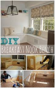 Nook Bench Smart Design Diy Kitchen Nook How To Build A Bench Oh Everything