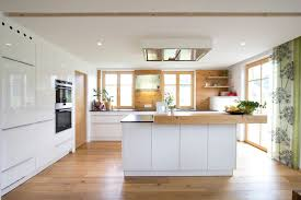 kche wei mit holzarbeitsplatte wohnideen interior design einrichtungsideen bilder kitchens