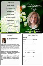 template for a funeral program funeral program template microsoft complete guide exle