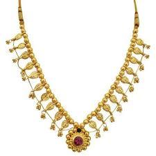 necklace sets design images Kolhapuri saaj single design necklace sets kolhapuri saaj jpg