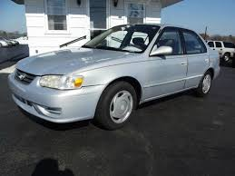 toyota corolla 2001 sedan 2001 toyota corolla 4dr sdn ce auto inventory e lewis