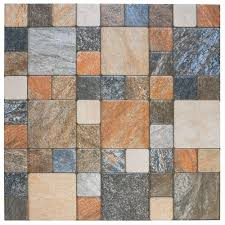 Rustico Bedroom Set Merola Tile Atlas Por Rustico 12 1 4 In X 12 1 4 In Porcelain