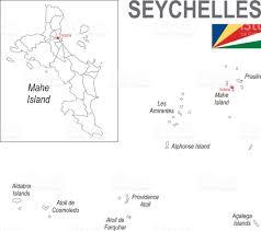 Seychelles Map Victoria Seychelles Clip Art Vector Images U0026 Illustrations Istock