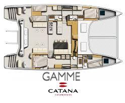 Catamaran Floor Plans Bali Catamarans