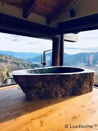 stone baths best natural stone bathtubs freestanding bathtub lux4home com
