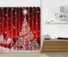 Santa Curtains Popular Snowman Shower Curtains Buy Cheap Snowman Shower Curtains