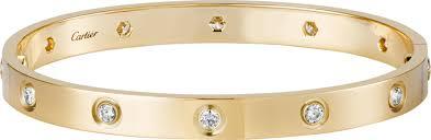 cartier love bracelet with diamonds images Crb6040517 love bracelet 10 diamonds yellow gold diamonds png