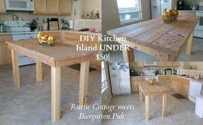 jessicarose home decor diy kitchen island under 50 rustic