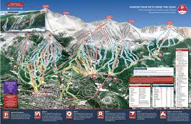 Whistler Trail Map Breckenridge U0027s New Trail Map With Peak 6 Expansion Unofficial