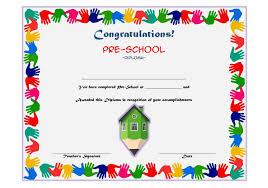 preschool certificates preschool diploma certificate template 4 the best templates