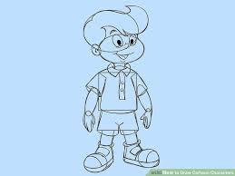 4 ways draw basic cartoon characters step step