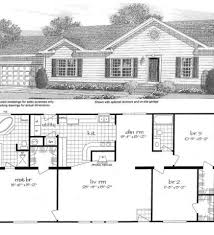 best of 3 bedroom modular home floor plans new home plans design