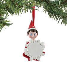 amazon com department 56 elf on the shelf blank boy personalized