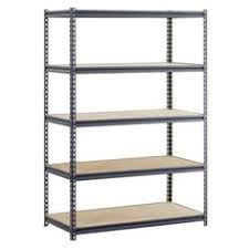 Home Depot Heavy Duty Shelving by Edsal 6 Shelf Steel Commercial Shelving Unit Ur184884l6 At The