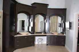 Custom Made Bathroom Vanity Custom Made Bathroom Cabinets In Black Finish Home Interior