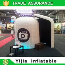 Photobooth For Sale Aliexpress Com Buy Free Shipping Led Light Inflatable Dome Tent