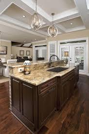 brown over the kitchen sink lighting architecture designs island