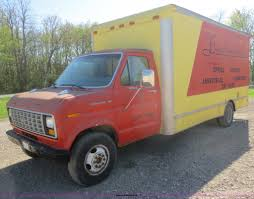 Vintage Ford Econoline Truck For Sale - 1988 ford econoline e350 box truck item f8264 sold may