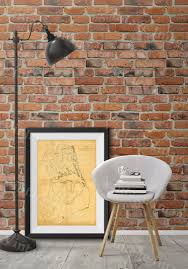 Map Of Outer Banks Outer Banks Map 1862 Coastal Map Restoration Hardware Style
