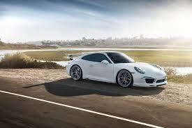 Porsche 911 White - stunning white vorsteiner v gt porsche 991 carrera s gtspirit