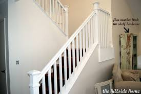Wood Banisters And Railings Stair Fancy Half Turn Staircase Decorating Design Ideas Including