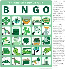 s day bingo play st s day parade bingo with our printable bingo card