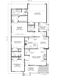 milburn acres narrow lot home plan 055d 0311 house plans and more