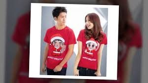 wallpaper baju couple kaos couple remaja romantis terbaru youtube