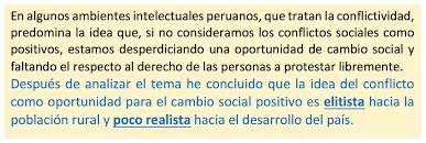 a oport de si e social los conflictos vistos como oportunidades ladia