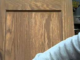 Polyurethane Cabinet Doors How To Apply Stain And Polyurethane In One Youtube