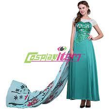 Elsa Frozen Halloween Costume Frozen Cosplay Frozen Fever Queen Elsa Princess Dress