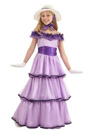 Halloween Belle Costume Child Deluxe Southern Belle Costume