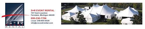 tent rental detroit tent rental line equipment detroit area