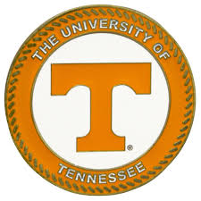 Tennessee Vols Home Decor Tennessee Volunteers Collegiate Rocking Chair Maple Finish Dcg