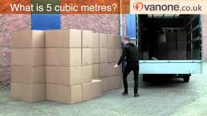 what 5 cubic metres look like inside the removal van youtube