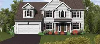 two colonial house plans two colonial hwbdo75157 colonial house plan from 2