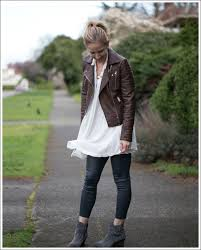 Real Leather Leggings Mixing Faux Leather With Real Leather U2026
