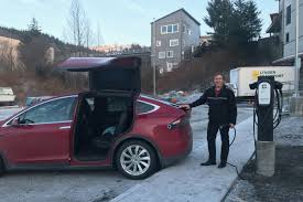 Tesla Charging Station Map Off Road Alaska Town Offers Free Electric Car Charging First You