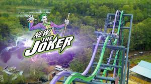 Six Flags Illinois The Joker Roller Coaster New At Six Flags Great America In 2017