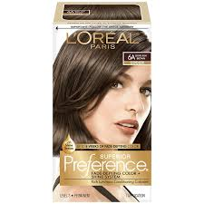 light ash brown hair color buy l oreal paris superior preference 6a light ash brown online at
