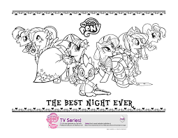 grand galloping gala my little pony coloring pages pinterest
