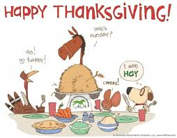 ej s world does thanksgiving horsey humor