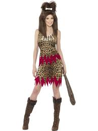 cavewoman halloween costumes cavegirl cutie fancy dress ladies jungle flintstones cave