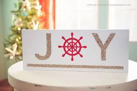 Diy Nautical Decor Diy Nautical Christmas Sign I Heart Nap Time