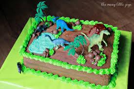 dinosaur cakes how to make a dinosaur birthday cake the many joys